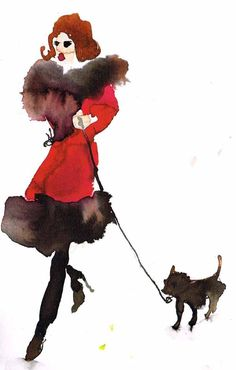 """""""What to Wear When Walking the Dogs 3"""" by Bridget Davies"""