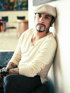 AJ McLean of the Backstreet Boys