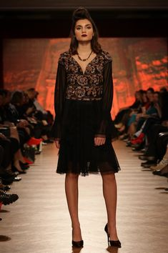 Rochie tul negru