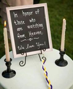 What a great way to honor our loved ones who have passed on.