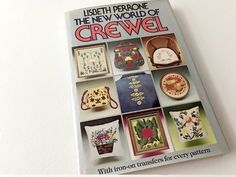 Crewel Patterns Crewel Book Lisbeth Perrone Crewel by 2Fun4Words