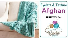 afghan crochet - YouTube