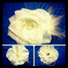 Handmade Vintage style Bridal Accessories by Cutie Petunias