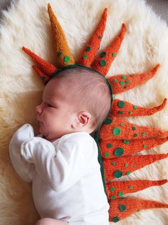 'Baby Spikes, Robert'2013, by knit artist Tatyana Yanishevsky