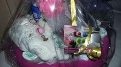 Gâteau de couches Baby Shower fille PRIX FOUS A PARTIR DE 15 EUROS UNIQUEMENT SUR EBAY TOUT DOIT DISPARAÎTRE PRIX FOUS