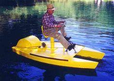 9' Pedal-It - S&G pedal boat-boatdesign