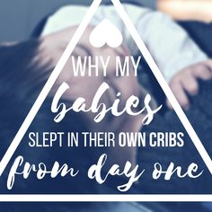 I have actually had other Mom's mouths fall open in horror when I tell them that my two day old baby sleeps in her own crib at night. I have had to explain myself many times and I have even been told that I need to be checked for postpartum depression because I didn't feel the need to sleep next to…