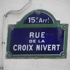 La rue de la Croix-Nivert (Paris 15ème)