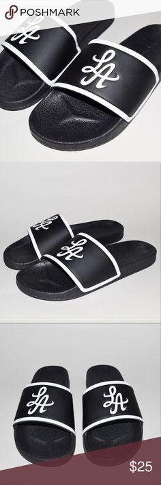 Hot Rod Los Angeles Signature LA Slides Men's 8 Brand: Hot Rod Los Angeles Item name: Signature LA Slides   Color: Black Condition: Brand new. Size: Mens US Men's 8 Hot Rod Los Angeles Shoes Sandals & Flip-Flops