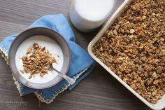 Granola de aveia e trigo sarraceno