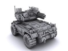 Armored Vehicle by Pirosan on DeviantArt