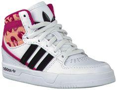 Witte Adidas Sneakers COURT ATTITUDE K