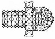 Catedral de Burgos. Antes de mediar el siglo XIII, el maestro Enrrique quien procedía de. Francia, transforma la cabecera disponiendo un profundo presbiterio de tres tramos, rodeado de una amplia girola, a la que se abren cinco amplias capillas poligonales precedidas de dos rectangulares a cada lado, tal y como se había realizado en Reims.