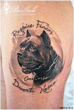 Peter Žuffa 2014 #art #tat #tattoo #tattoos #tetovanie #original #tattooart #slovakia #zilina #bodliak #bodliaktattoo #bodliak_tattoo #dog_tattoo #portrait_tattoo