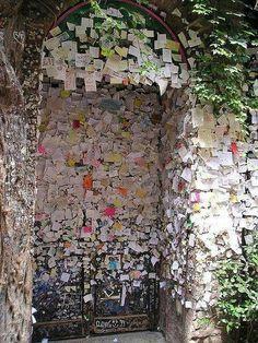 Letters to Juliet Door in Verona, Italy. Write a letter to Juliet and travel to Verona and place it on the door!