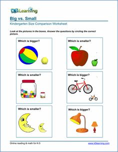 Free Worksheets For Preschoolers On Big And Small With Preschool Kindergarten Comparison Worksheets : Free Worksheets For Preschoolers On Big And Small With Preschool Kindergarten Comparison Worksheets Ideas Gallery : Free Coloring Pages for Kids Nursery Worksheets, Printable Preschool Worksheets, Fractions Worksheets, Free Preschool, Worksheets For Kids, Printables, Kindergarten Math Activities, Activities For Kids, Maths
