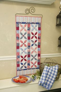 Signs of Summer by Amanda Murphy, featured in Quilters Newsletter's Best Fat Quarter Quilts 2012