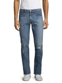 J Brand Tyler Slim Straight Jeans In Flintridge J Brand, Slim, Mens Fashion, Jeans, Shopping, Clothes, Collection, Style, Moda Masculina