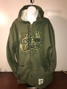 Ecko Unlimited Hoodie Size 3x Zip Up Olive Green Embroidered Metallic Graphics  | eBay #ebay #shopping #forsale #sale #mensclothes #mensfashion #mensstyle #mens #look #newlylisted #wearulike #menswear #urbanwear #urbanstyle #urban #watch #mensfashions #mensfashionof #urbanclothing #mesnfashionpost #hoodie #fashion #clothing #streetwear #style #apparel #jacket #swag #adult #men Tags by @HashMeApp #shopping #fashion #style #sale #shop #onlineshop #outfit #clothes #stylish #clothing
