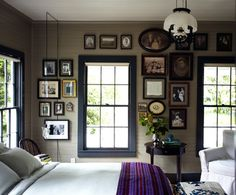 wall colors that go with natural wood trim | Cottage Style Walls Design Ideas, Pictures, Remodel, and Decor