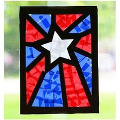 I love that my students are finally ready to handle more complicated classroom projects in May - like this patriotic stained glass window craft. It's perfect for Memorial Day and the finished project is beautiful! Click the link in my profile for the full tutorial and double tap for shopping links from @liketoknow.it http://liketk.it/2oaTI #liketkit
