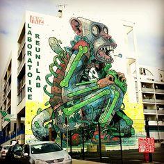 #reunion #island #iledelareunion #gotoreunion #lareunion #reunionparadis #streetart #aryz #monkey #business #stdenis #reunion #island #tags #graffiti #art #urban #wall #instagood #like #picoftheday #TagsForLikes #TFLers #photooftheday #ig #citylife #designs #artist