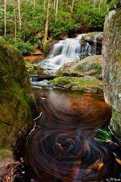 Elakala Falls, Blackwater Falls State Park, WV.