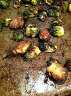 Maple Balsamic Roasted Brussels Sprouts More