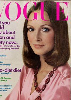 Cover Model: Karen Graham Photographed by: Avedon 1972 Vogue