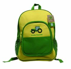 $33 - John Deere by Scene Weaver Yellow and Green Backpack John Deere by Scene Weaver http://www.amazon.com/dp/B003ZFZDH2/ref=cm_sw_r_pi_dp_46nQtb151MCVSAW5