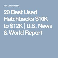 20 Best Used Hatchbacks $10K to $12K | U.S. News & World Report
