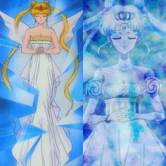 Neo Queen Serenity from Sailor Moon & New Anime Sailor Moon Crystal