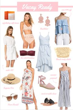 Vacation-ready pieces for your spring fever getaway!