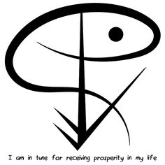 """Sigil Athenaeum — """"I am in tune for receiving prosperity in my life""""..."""
