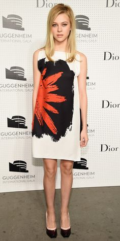 Look of the Day - November 8, 2014 - Nicola Peltz in Dior from #InStyle