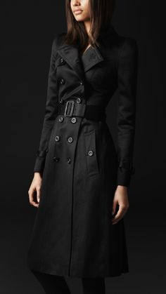 Burberry - COTTON SATEEN BOW DETAIL TRENCH COAT