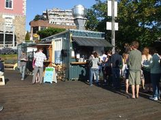 Red Fish Blue Fish  - Wow! is this fantastic.  If it is sunny...huge line up - but you are on the wharf.  Plenty of seating, some covered, if it is raining - no line ups.  Sustainable, local seafood.  Best fish and chips, smoked chipotle seafood chowder, local scallop tacones, tons to choose from.  Closed Nov thru Jan.  A Victoria must do!  http://www.shopvictoria.ca/red-fish-blue-fish____250-298-6877/