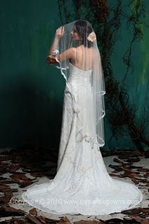 The Christian Wedding Blog: Wedding Veils from Romantic Gowns