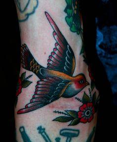 beautiful swallow by Bailey Hunter Robinson
