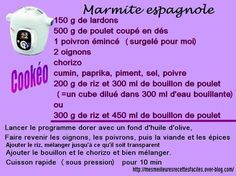 Marmite espagnole au cookéo