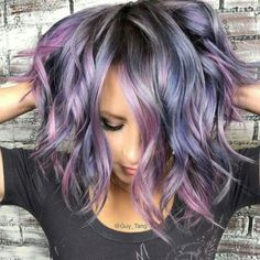 Best Funky Colored Hair That Look so Carefree 39