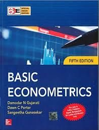 Basic Econometrics 5th Edition Damodar N Gujrati Dawn C Porter Solutions Dawn Porter Basic Solutions
