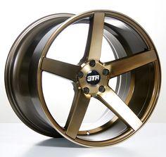 "19"" 20"" 22"" Staggered STR607 Wheels Rims Titanium for BMW #AudioCity"