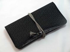 印伝亀甲紐巻き長型財布 | 印傳-INDIA | | 銀鱗堂