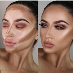 Actually so in love with the cream contour sticks! There is a shade to warm the skin, add shadows to the skin and… Actually so in love with the cream contour sticks! There is a shade to warm the skin, add shadows to the skin and… Teint lumineux contou Beauty Make-up, Beauty Skin, Beauty Hacks, Hair Beauty, Beauty Tips, Beauty Care, Beauty Products, Luxury Beauty, Beauty Ideas
