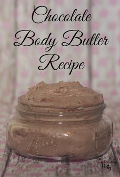 Chocolate body butter recipe #ConfidenceUDeserve [ad]