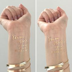 gold-Bachelorette-Party-temporary-tattoos