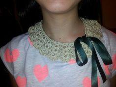 Preciosos cuellos de ganchillo