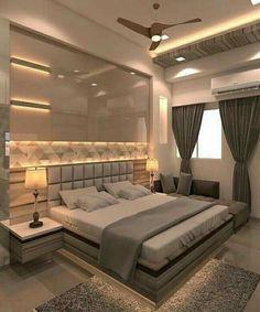 Modern Luxury Bedroom, Luxury Bedroom Design, Bedroom Closet Design, Modern Master Bedroom, Bedroom Furniture Design, Master Bedroom Design, Luxurious Bedrooms, Bedroom Ideas, Trendy Bedroom