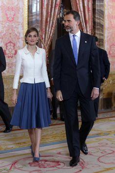 """El nuevo look de la Reina Letizia: corte de pelo """"bob"""". Es la nueva tendencia en cabello!"""